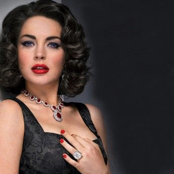 Lindsey Lohan as Liz Taylor