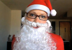 GiGi Dubois as Santa Claus