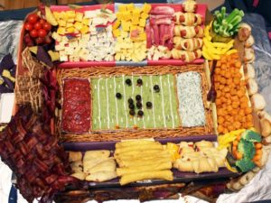 Food-Football-Field