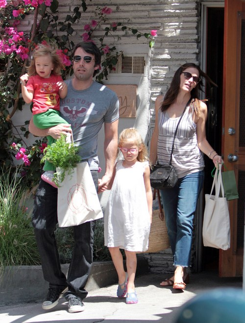Ben Affleck and Jennifer Garner and Kids