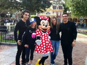 Minnie Mouse and the gang