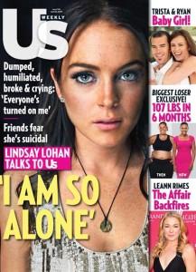 Lindsay Lohan US Weekly