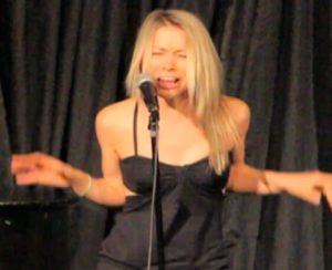 GiGi Dubois doing Stand Up Comedy