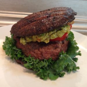 Grass Fed Beef Burger with Portabello Mushroom Bun