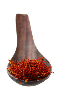 Saffron on Spoon