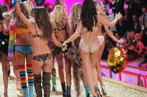 Victoria's Secret Model's Butts