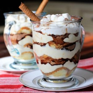 Bailey's Hot Chocolate Tiramisu