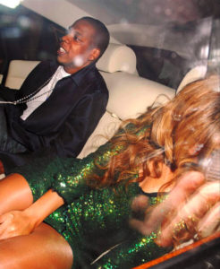 Beyonce and Jay-Z Drunk in Limo