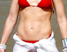 Gwen Stefani's abs