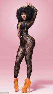Nicki Minaj has a huge ass!