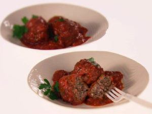 Sweet and Spicy Greek Meatballs, Giada De Laurentiis Recipe