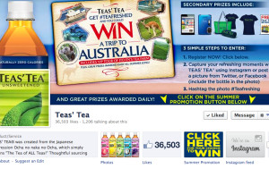 Teas' Tea Facebook Page