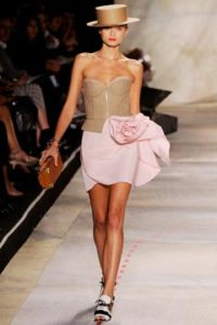 Isaac Mizrahi Pink Flower Dress