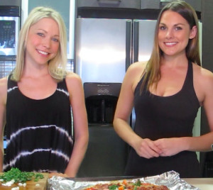 GiGi and Whitney welcome you to Dude Food!