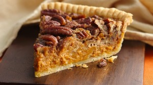 Pecan and Pumpkin Pie