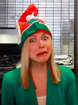 Elfie is scared!