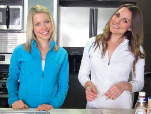 Whitney and GiGi Smiling