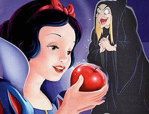Snow White Eating Poison Apple