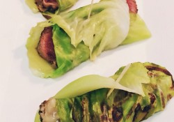 Beef wrapped in cabbage