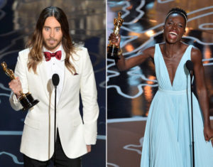 Jared Leto and Lupita Nyong'o win Oscars 2014