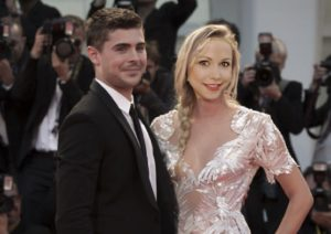 Zac Efron and GiGi Dubois