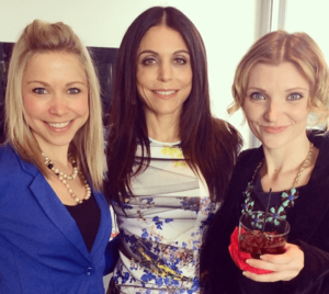 Bethenny Frankel with GiGi Dubois and Tara Redfield