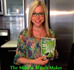 Matcha Green Tea Powder and GiGi Dubois