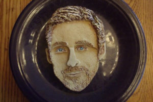 Ryan Gosling as a cake