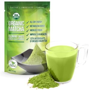 Kiss Me Organics Matcha Green Tea Powder