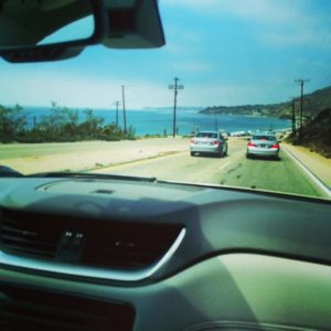 Driving along the PCH