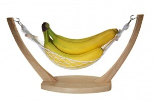 Bananas in a hammock