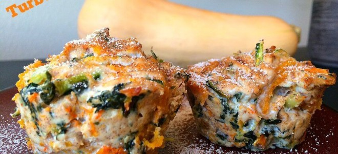 Turkey, Butternut Squash and Kale Bites