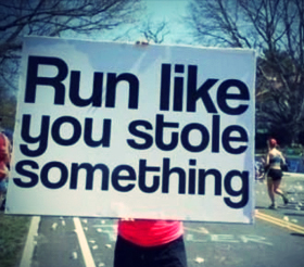 Marathon Running Quote