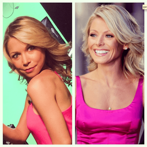 Kelly Ripa and GiGi Dubois