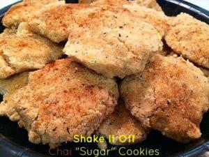 Taylor Swift Chai Tea Cookies Healthified