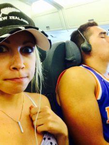 Oh boy so much room on my flight