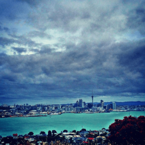 Auckland New Zealand weather coming in