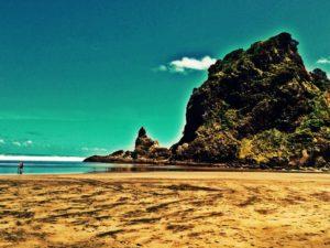 Piha Beach Rock
