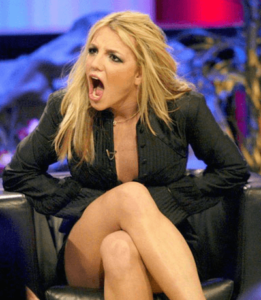 Britney Spears Shocked