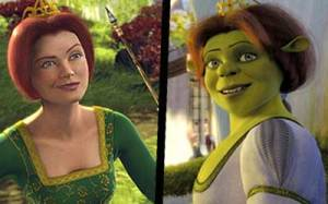Fiona from Shrek, Before and After