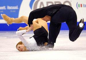 Olympic Ice Skaters FAIL