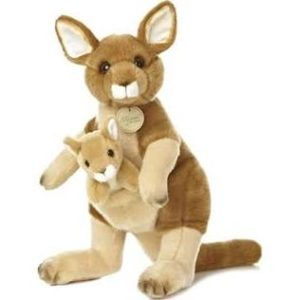 stuffed kangaroo toy