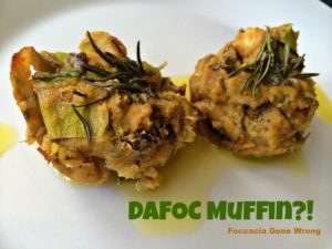 Dafoc muffins - foccacia fail