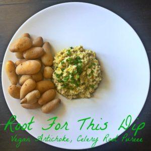 Vegan-Artichoke-Celery-Root-Puree made by Leslie Durso