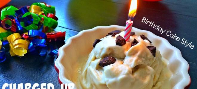 Birthday cake coconut ice cream