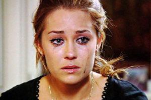 Lauren Conrad crying