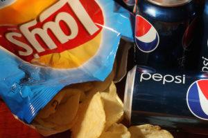 Frito Lay's and Pepsi Cola