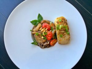 Blue Apron's Miso Cod recipe recreated on GiGi Eats Celebrities