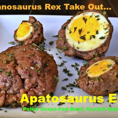 T-Rex Take Out, A Thanksgiving Appetizer