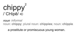 Chippy-Prostitute